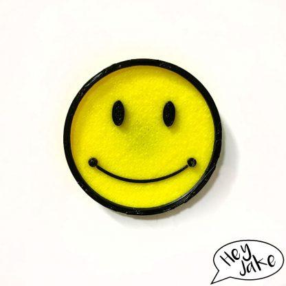 Hey Jake Funny Fridge Magnet Smiley Face