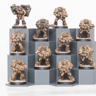 Miniature Stands for 25mm or 32mm bases - Warhammer 40K, Necromunda, Age of Sigmar etc