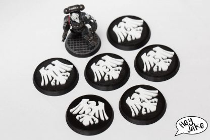 Raven Guard Warhammer 30K 40K 40mm Objective Marker Set of Six